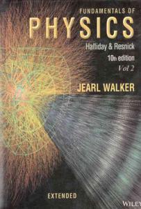 فیزیک هالیدی زبان اصلی جلد دوم علوم ایران