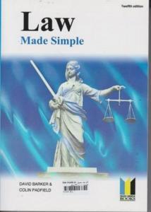 law mad simple نویسنده دیوید بارکر