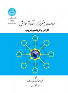 مباحث پیشرفته در اقتصاد آموزش کارایی و اثر بخشی نویسنده ابوالقاسم نادری