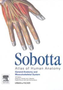 کتاب Sobotta Atlas of Human Anatomy انتشارات ارجمند